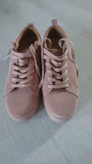 Bianco Sneaker rosa antico-rosa pallido