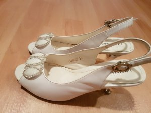 & other stories High-Heeled Sandals white