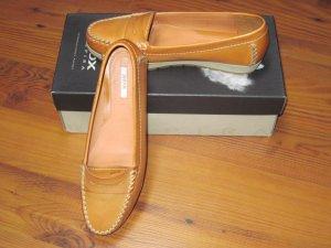Damenschuhe / Dame Schuhe / Mokassins  von GEOX, Senda S,  Gr. 38, orange