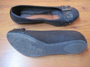 Damenschuhe / Damen Schuhe / Ballerinas, Gr. 38, schwarz