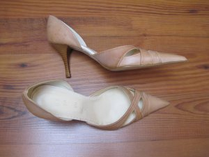 Damenschuhe / Damen Schuhe / Damenpumps/ Damen Pumps, beige, Gr. 38