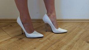 Damenschuhe Größe 39 (Pumps weiß)
