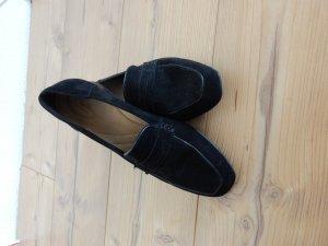 Damenschuhe schwarz Slipper