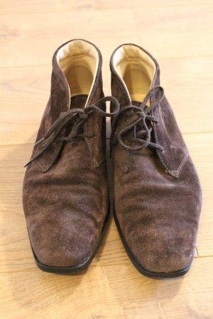 Tod's Scarpina di lana marrone-marrone scuro