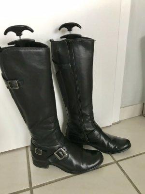 Gabor Botas estilo militar negro