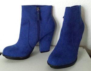 Damenstiefel / Boot blau