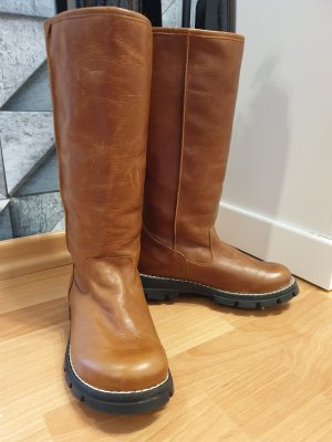 KMB Winter Boots brown-cognac-coloured