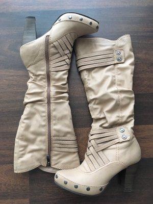 Marco Tozzi High Boots beige