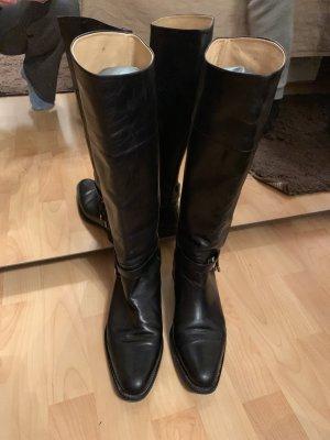 Truman's Jackboots black leather