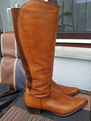 Wide Calf Boots multicolored leather