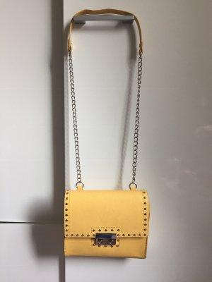 Zara Borsa a spalla giallo-giallo pallido