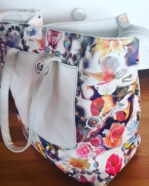 Damentasche mit Blumendesign