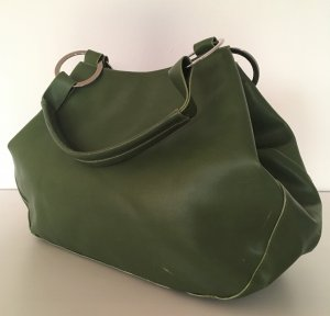 Damentasche Schultertasche Oversize Shopper Grün Handtasche Beuteltasche