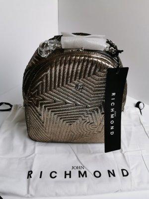 John Richmond Canvas Bag gold-colored