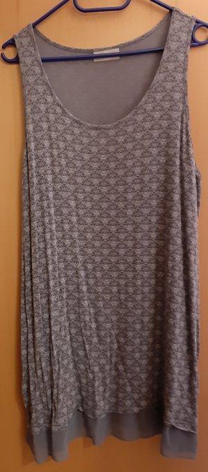 bpc Top met franjes lichtgrijs-grijs