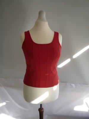 Damentop BIBA Gr. S (0) rot, jersey, edler Stoff