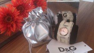 Damenuhr D&G BAY STAR DW0100 mit Lederband - wie neu gebraucht kaufen  Wird an jeden Ort in Deutschland
