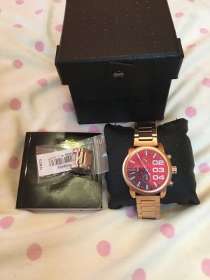 Diesel Montre analogue multicolore bronze