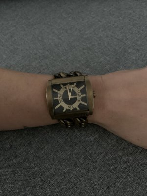 Esprit Watch With Metal Strap bronze-colored