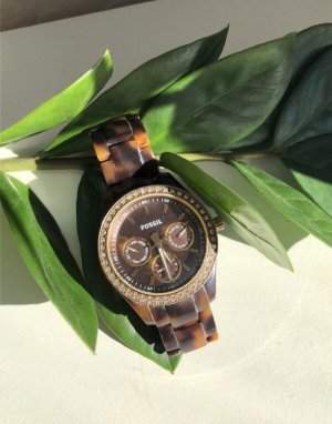 Fossil Analog Watch multicolored