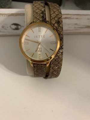 Jette Joop Analog Watch bronze-colored-rose-gold-coloured