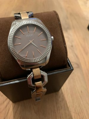 Joop! Orologio con cinturino di metallo argento-color oro rosa