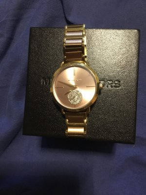 Michael Kors Montre doré-or rose bronze