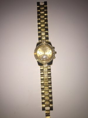 Damenuhr* Michael Kors * Golden* Strass Steine * neu *