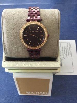 Michael Kors Analog Watch violet stainless steel