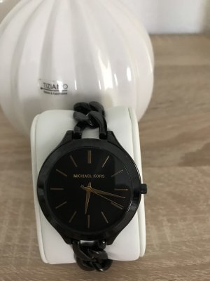 Michael Kors Reloj con pulsera metálica negro-color oro