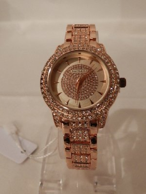 Montre analogue or rose bronze