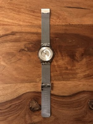 "Damenuhr Swatch ""Metal Knit"" SFM118M"