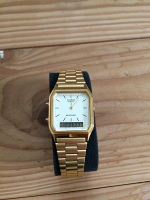 Damenuhr von Casio in Gold