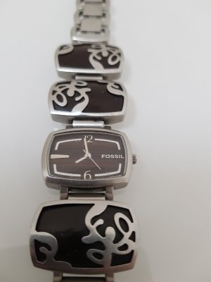 Fossil Horloge met metalen riempje veelkleurig