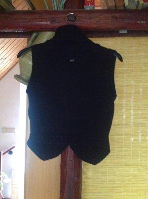 Tommy Hilfiger Smanicato lavorato a maglia nero
