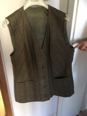 Fleece Vest khaki-ocher