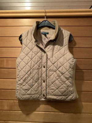Lauren by Ralph Lauren Quilted Gilet sand brown