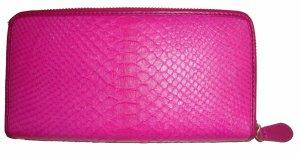 Portafogli rosa Pelle