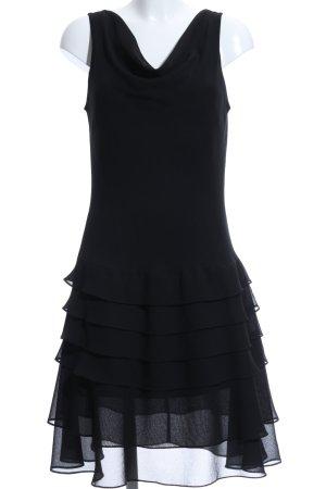 Damiani Midikleid schwarz Elegant