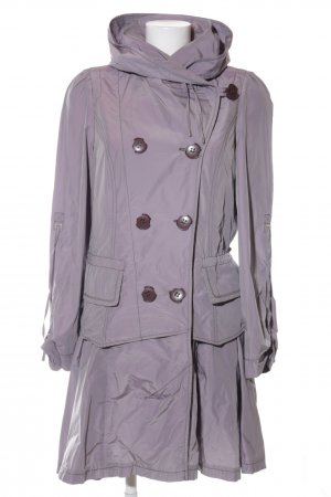 Damo Heavy Raincoat lilac casual look