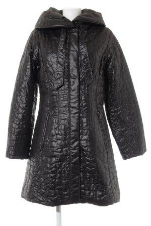 Damo Between-Seasons-Coat anthracite quilting pattern