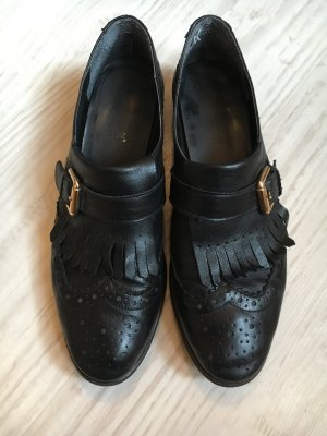 Dandy-Loafer Halbschuhe Mokassins