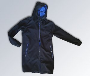 Softshell Jacket black mixture fibre
