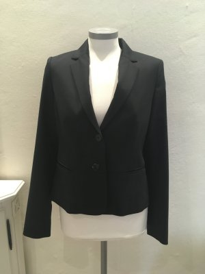 Daniel Hechter Wool Blazer dark blue wool