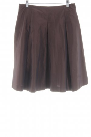 Daniel Hechter Flared Skirt bronze-colored party style