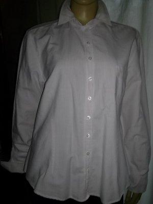 Daniel Hechter Blusa-camisa blanco-rosa Algodón