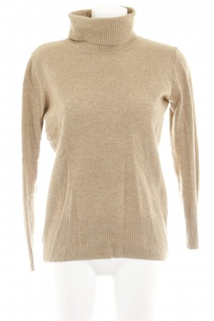 Daniel Hechter Jeans Turtleneck Sweater beige casual look