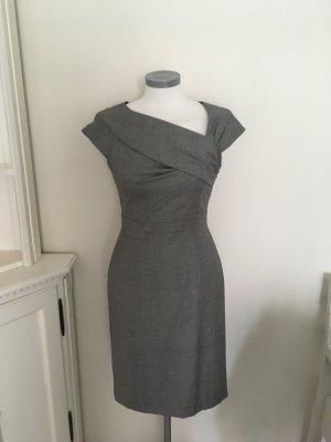 Daniel Hechter Kleid Etuikleid schwarz weiß 34 XS