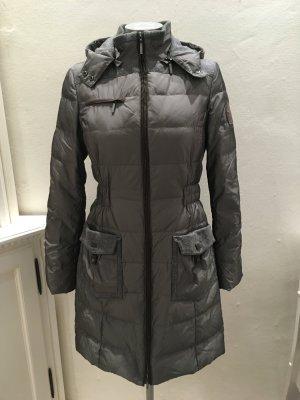 Daniel Hechter Quilted Coat dark grey-grey mixture fibre