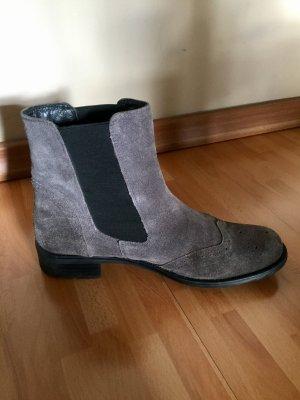 Daniel Hechter Stiefelette: Boots grau Wildleder